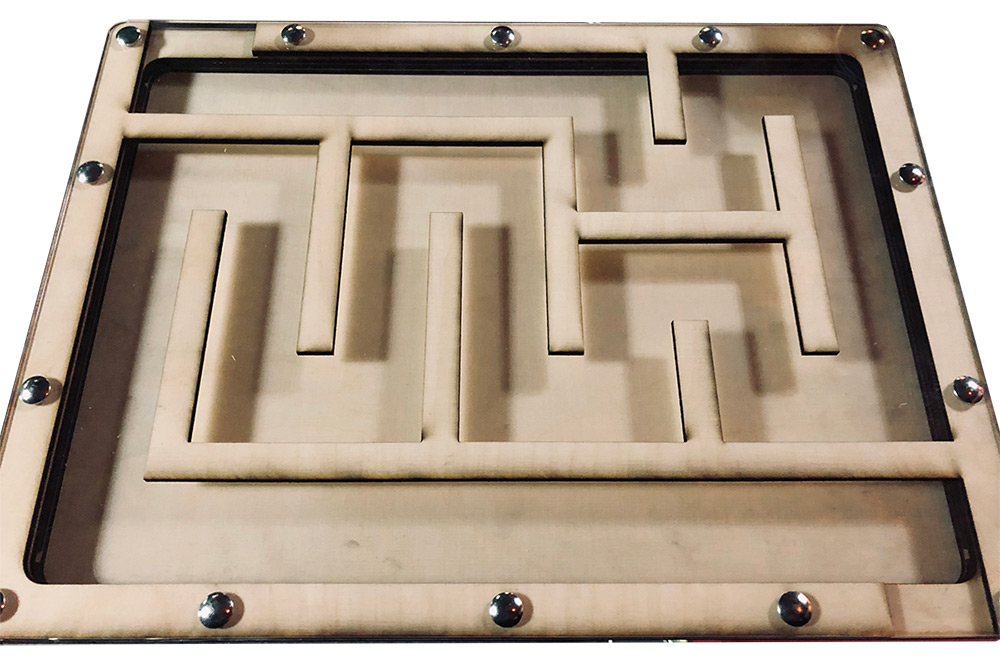 Magnet Labyrinth für Escape Rooms